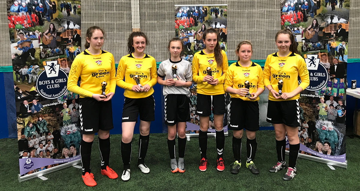 GIRLS NABGC 5-A-SIDE CHAMPIONSHIPS