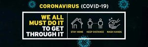 Corona virus advice image