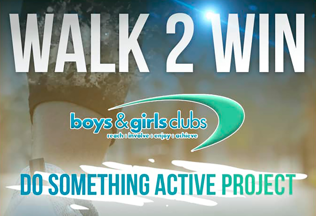 Do Something Active walk to Win
