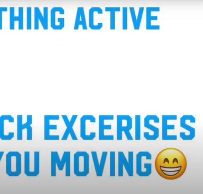 Physical Activity Week 7
