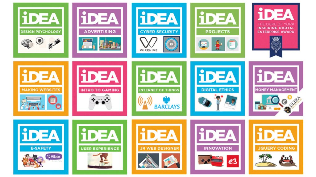 IDEA Badges