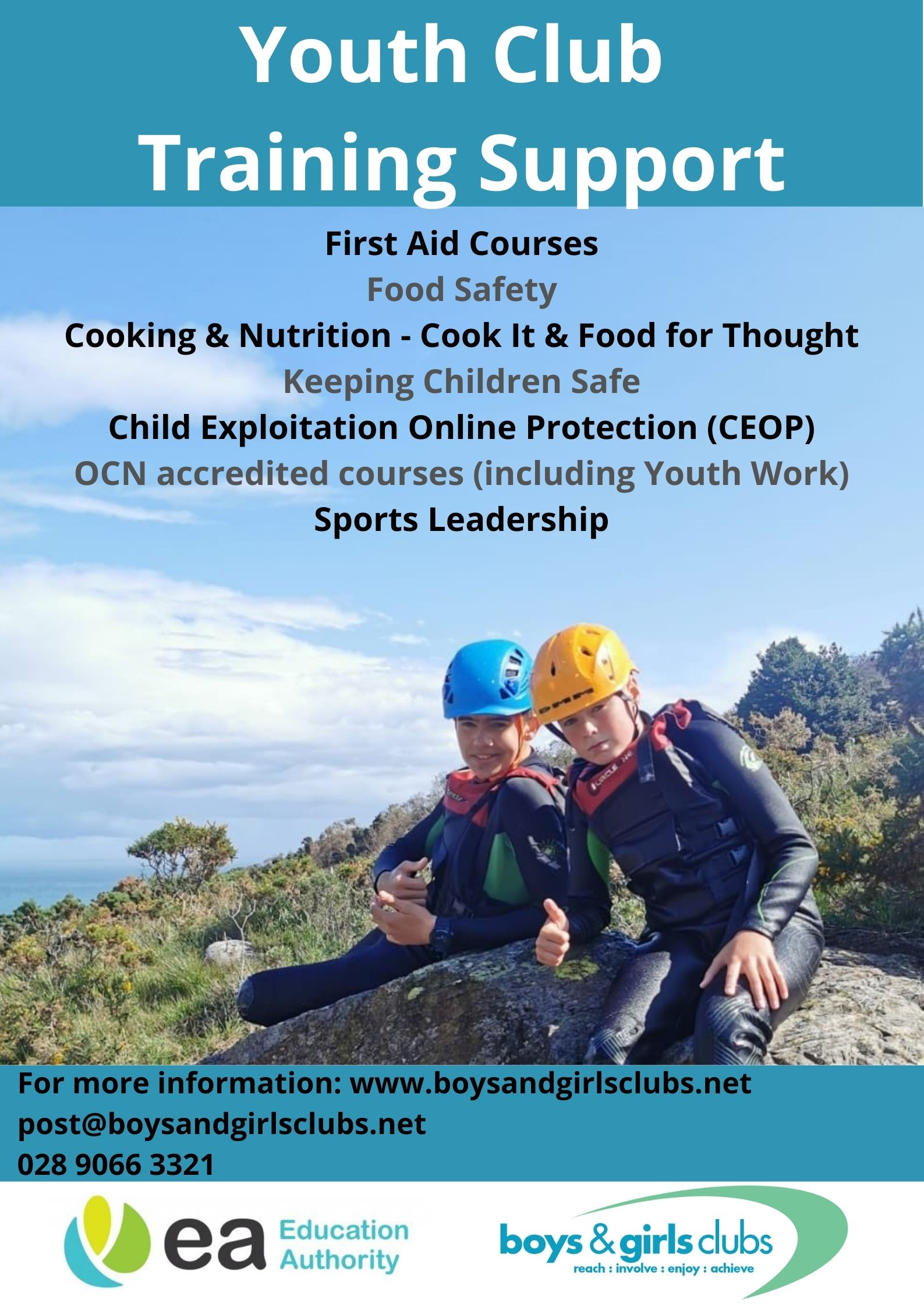 Youth Club Training Support