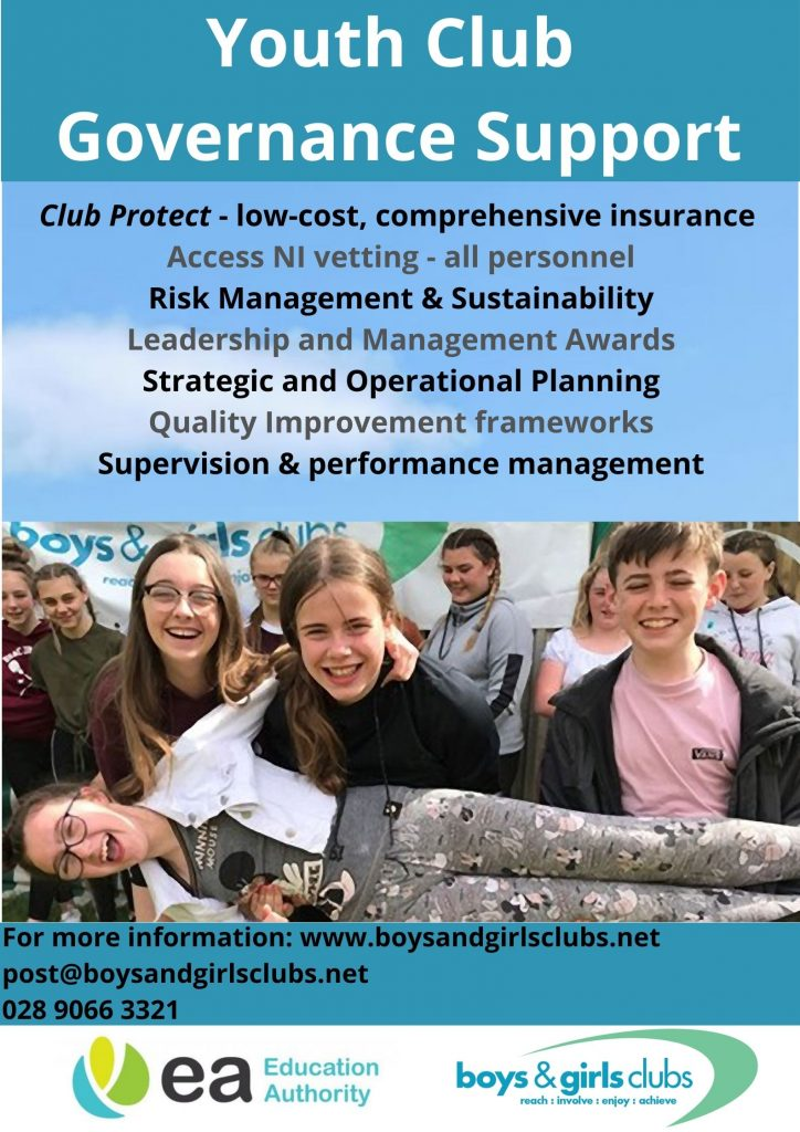 Youth club governance support