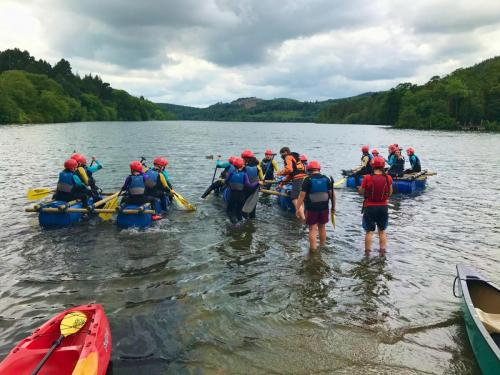 Castlewellan rafting adventure for Boys & Girls Clubs
