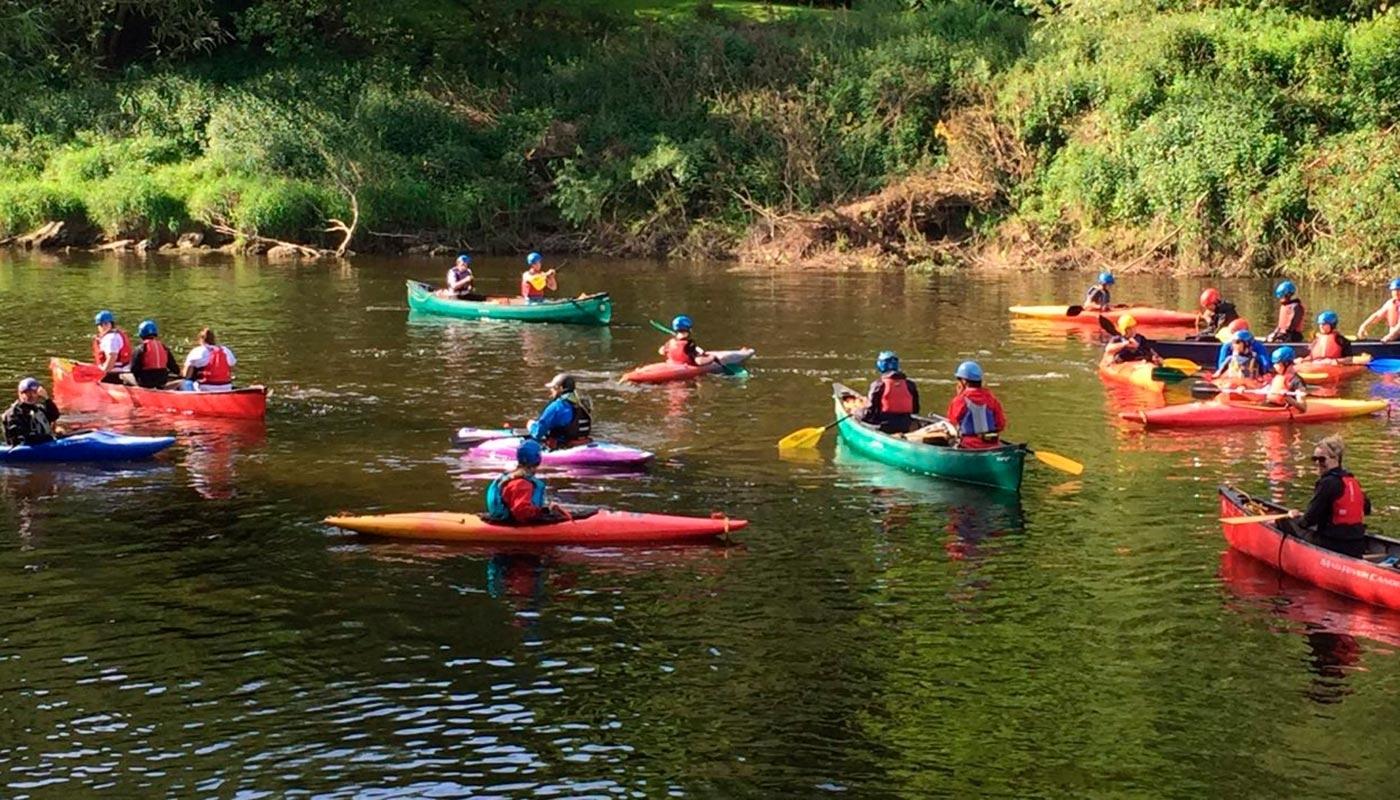Canoeist Picture BGC