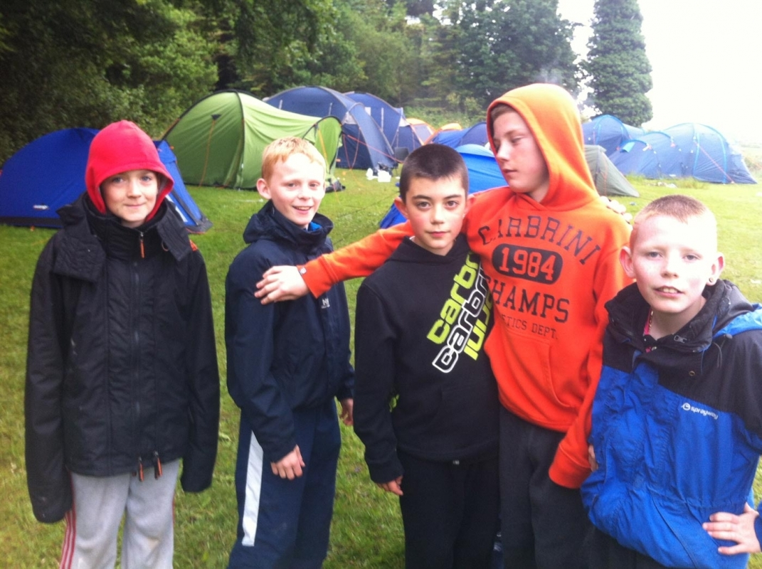 Boys & Girls Clubs Camping